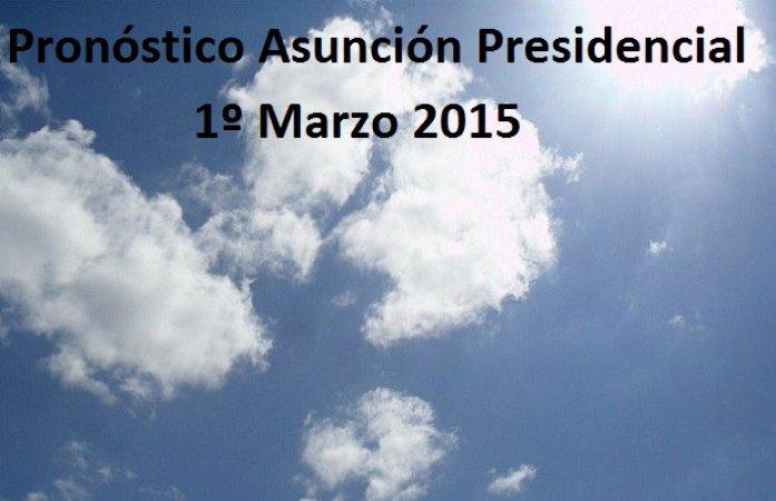 Pronóstico Especial: Día de la Asunción Presidencial.
