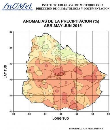 DIAGNOSTICO DE ANOMALIAS PLUVIOMETRICAS