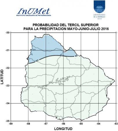 Perspectivas Climáticas para Mayo-Junio-Julio de 2016
